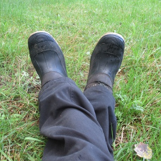 Trötta fötter, eller en synvilla