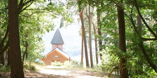 Kapellenpilgerweg mit Friedenskapelle in Birkenhördt