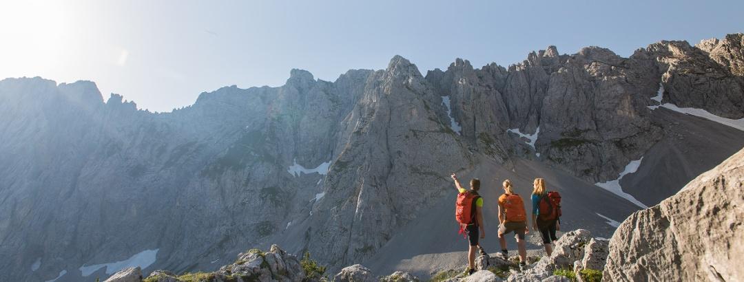 Bergtouren in Sankt Johann in Tirol