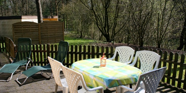 Garten in der Ferienanlage Hörster Horst