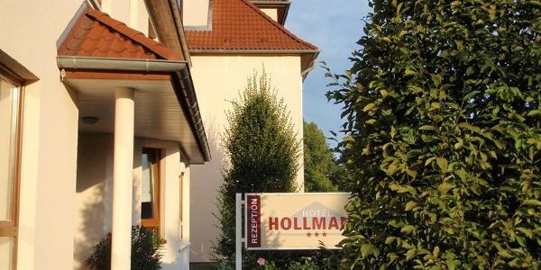 Seitenansicht Hotel Hollmann