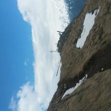Auf dem weg zum Gipfelkreutz