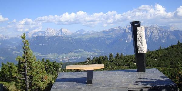 Dolomitoskop am Panoramaweg