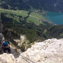 Blick vom Steig auf den Haldensee