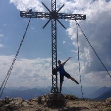 Gipfelkreuz Rotflüh