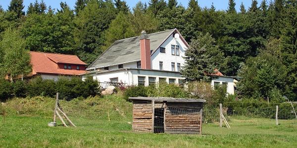 """Außenansicht - Berggasthof """"Zum Fuchsbau"""" - Brotterode"""