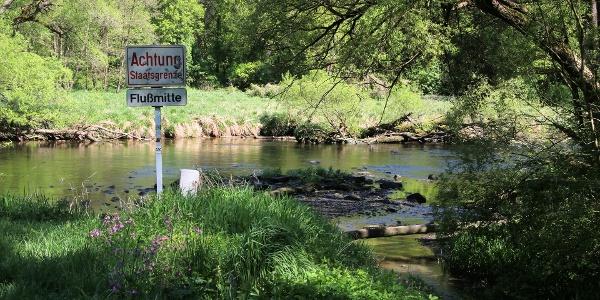 Grenzfluss zu Tschechien, die Thaya