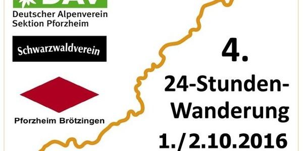 Die 24h-Wanderung Westweg 2016.