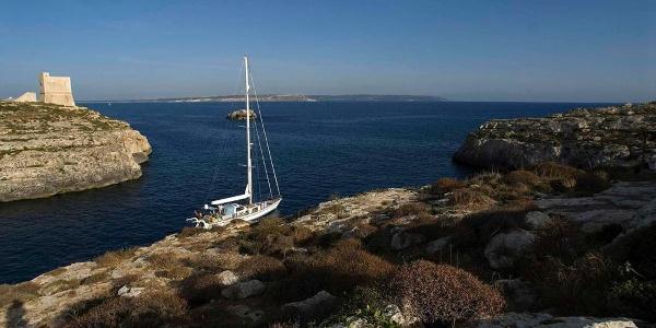 Der Küstenwachturm Mgarr ix-Xini