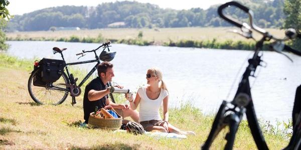 Picknick an der Ruhr