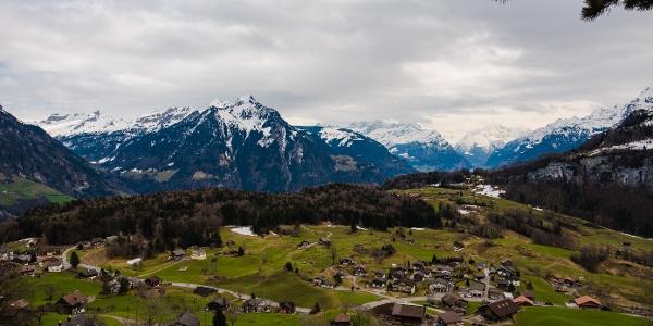 Blick von Sselisberg Richtung Urner Land