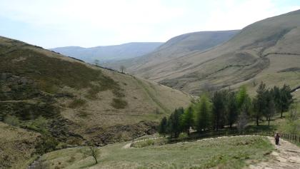 Outlook from Jacob's Ladder down to the Vale of Edal