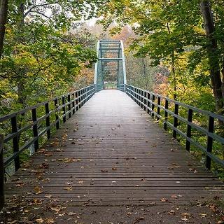 Bron över Motala ström