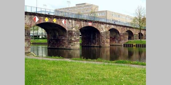 N15 Alte Brücke, Saarbrücken-St. Johann