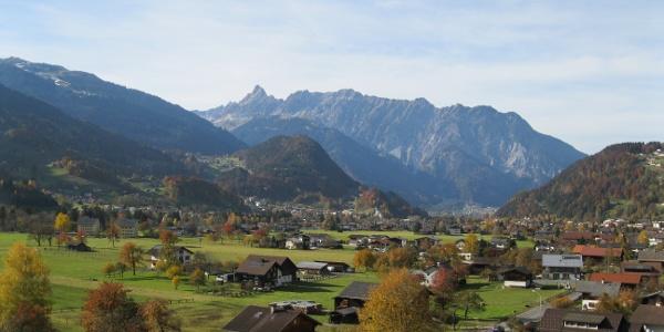 Ausblick vom Buchwaldweg