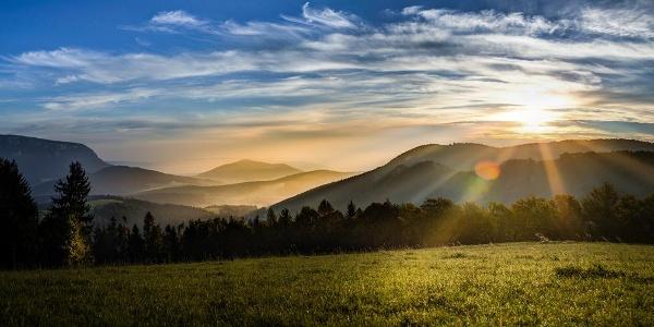 Sonnenaufgang Gutenmann