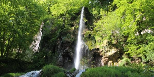 Uracher Wasserfall Schwäbische Alb