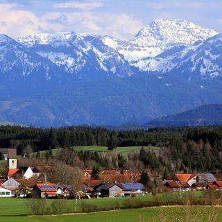 Blick auf Oberthingau