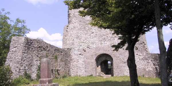 Haschbach - Remigiusberg - Ruine Michelsburg