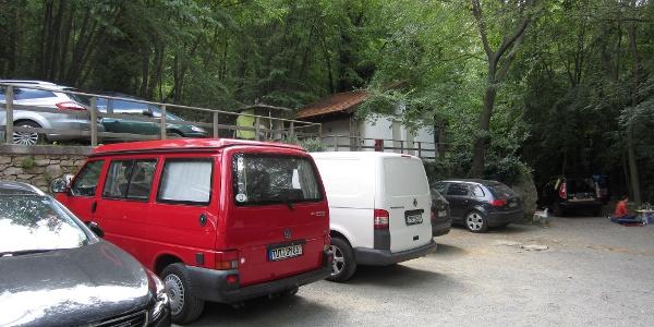 Parkplatz am Monte Cucco