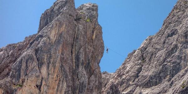 Klettersteig Flying Fox