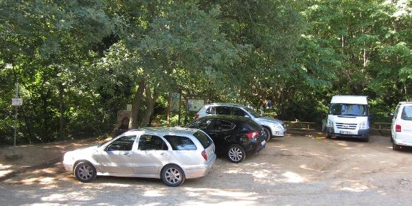Parkplatz Perti Nord