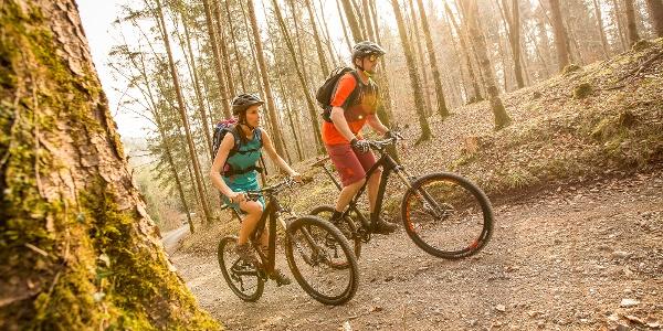 Mountainbike-Erlebnis Brandnertal