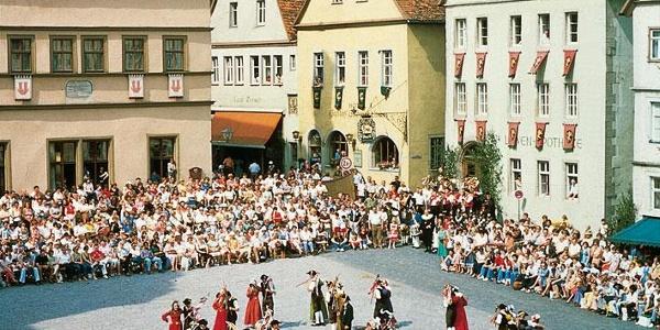 Schäfertanz in Rothenburg o. d. Tauber