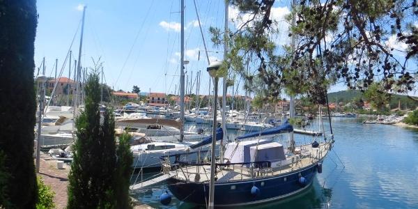 Hafen von Vrbosca