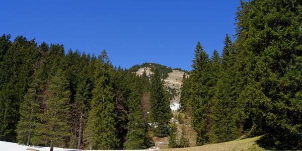 Ein erster Blick zum Hirschberg