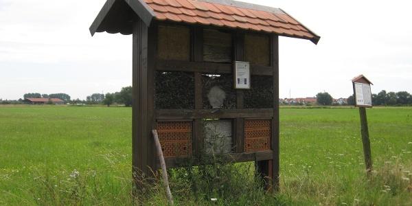 Insektenhotel am Walderlebnispfad