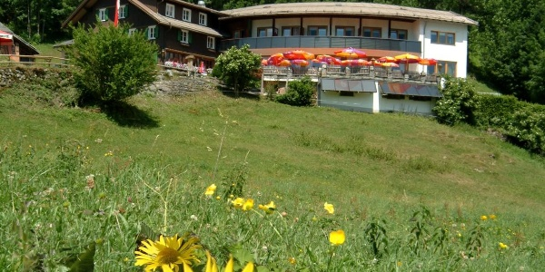 Berghaus Kanisfluh auf der Schnepfegg