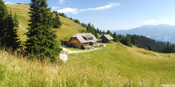 Klippitztörl - Hohenwarthütte