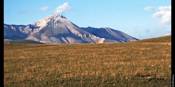 Monte Camicia vom Campo Imperatore