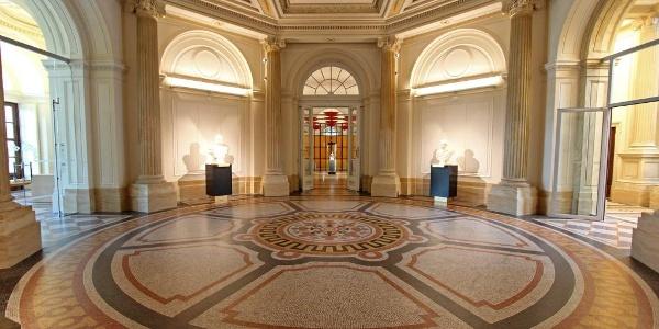 Herzogliches Museum, Oktogon und Skulpturenhalle - Gotha