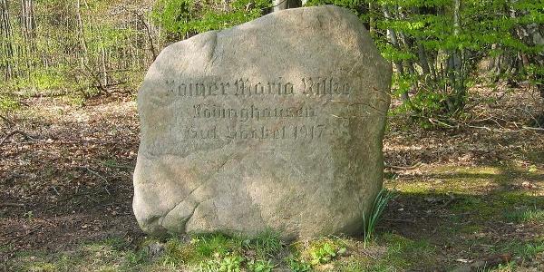 Rilke-Gedenkstein