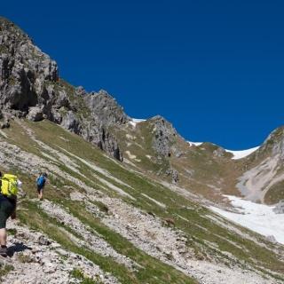 Bergtour - Hochblasse, im Roggental