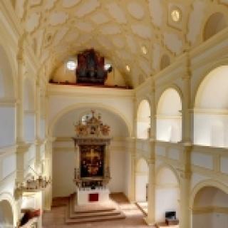 Schlosskirche mit Cranach-Altar
