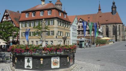 Feuchtwangen Marktplatz