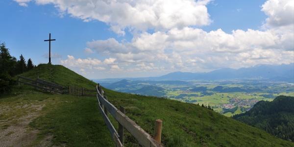 Gipfelkreuz am Edelsberg - oberhalb der Kappeler Alp