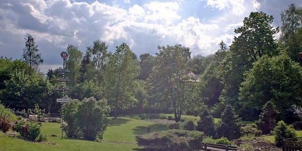 Garten am Hotel Gasthof am Rehberg