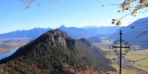 Ausblick von der Ruine Falkenstein