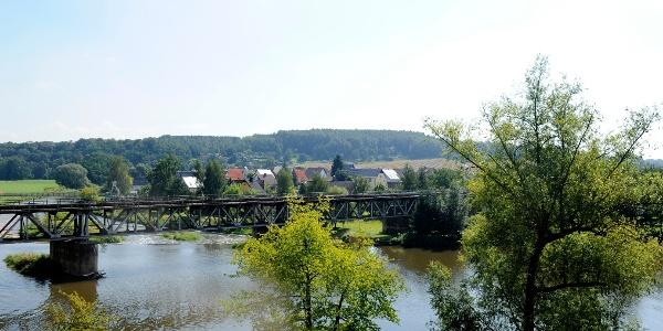 Eisenbahnbrücke Rochlitz ©W. Siesing