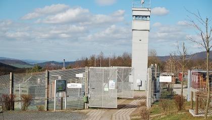 Grenzmuseum Schifflersgrund auf dem ehemaligen Grenzstreifen zwischen Bad Sooden-Allendorf und Asbach-Sickenberg