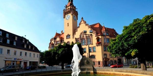 Waldheim Rathaus ©W. Siesing