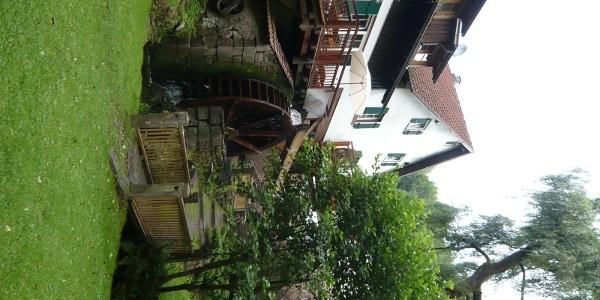 Im Garten der Heidersbacher Mühle