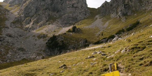 Unterwegs im Kenzengebiet in Halblech