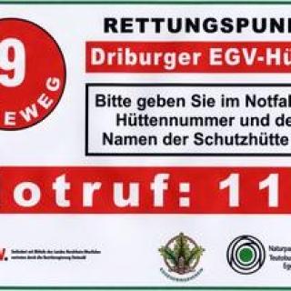 Roters Eiche Hütte (Rettungspunkt 22)