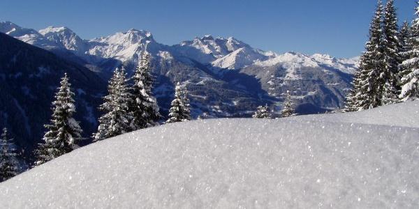 Panoramablick vom Kristberg aus