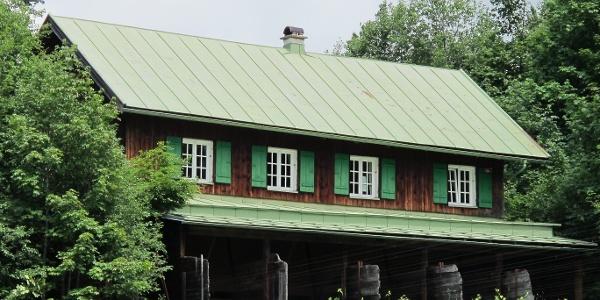 Schützenhaus an der Leidtobelbrücke